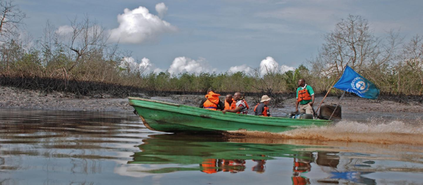 UNEP team in Nigeria to discuss steps needed to implement Ogoniland Report